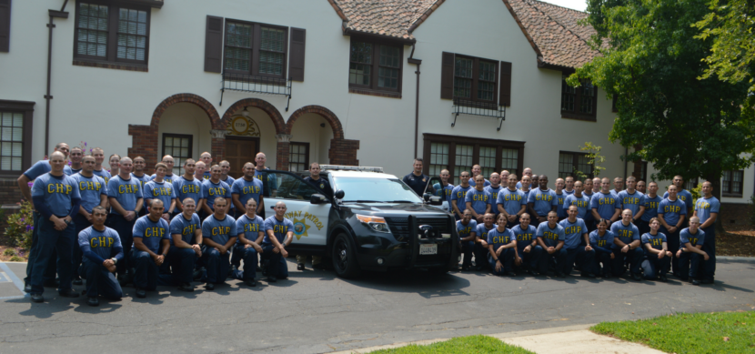CHP Cadets Volunteer at Sacramento Children's Home